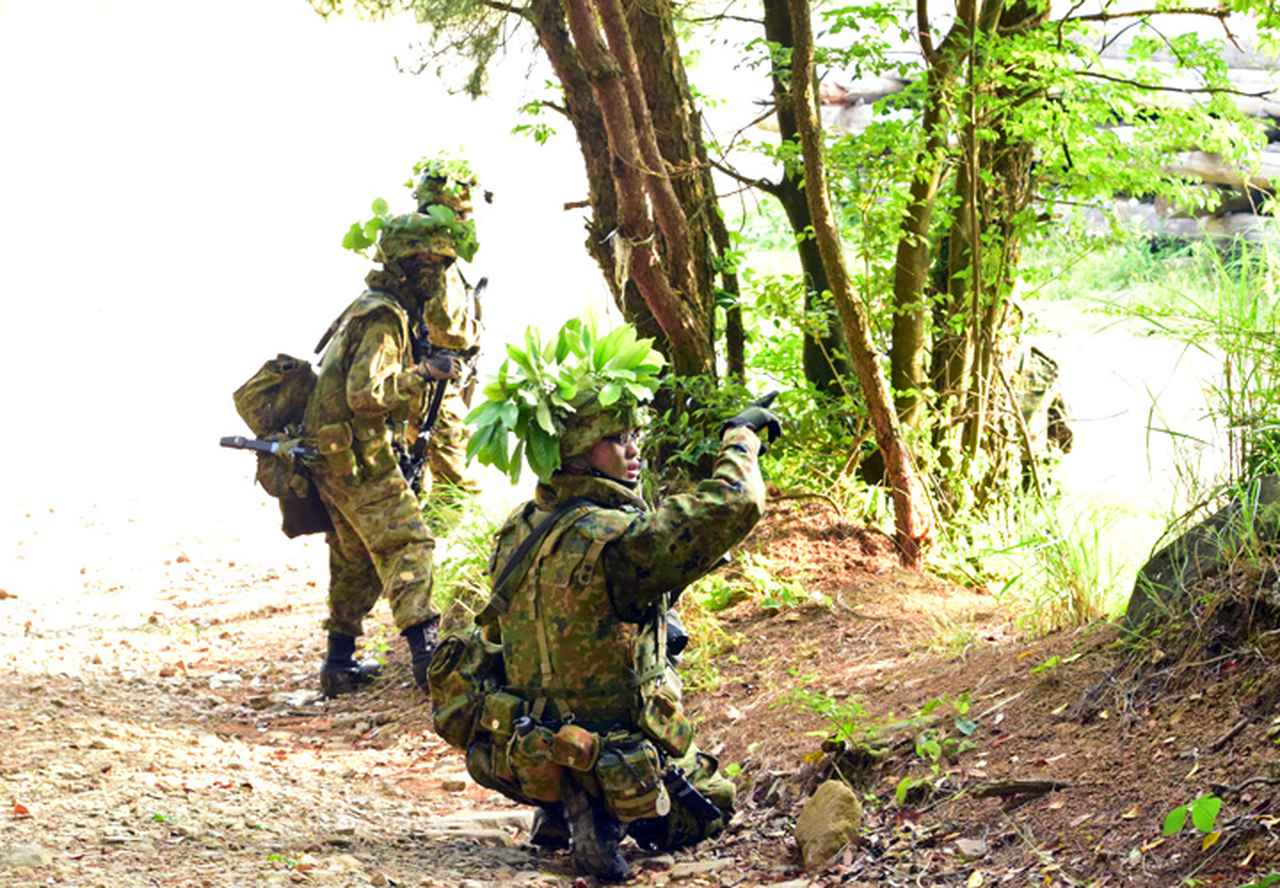 画像3: 9施設群、島嶼防衛想定した支援任務訓練を完遂|小郡駐屯地