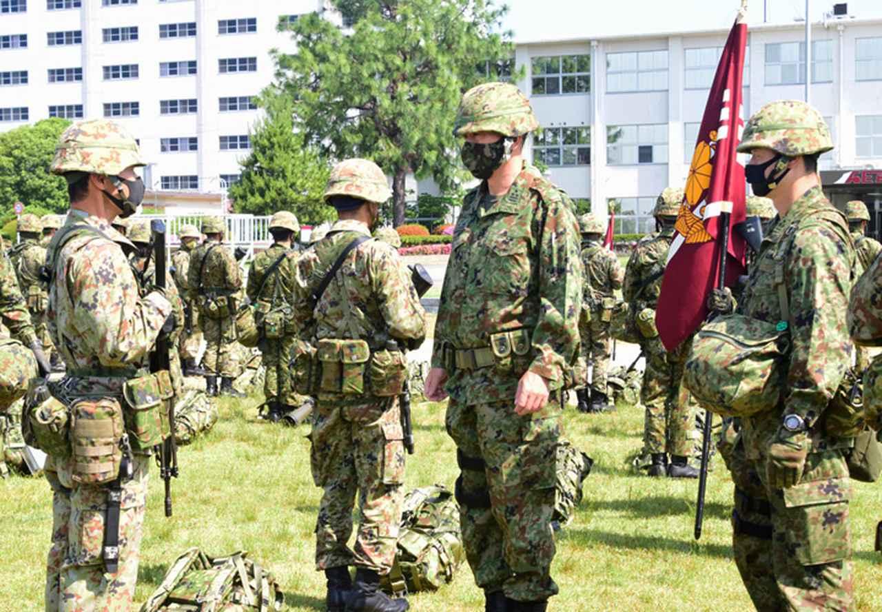 画像1: 9施設群、島嶼防衛想定した支援任務訓練を完遂|小郡駐屯地
