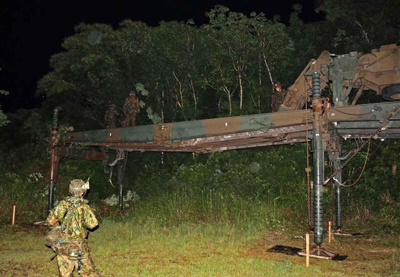 画像7: 9施設群、島嶼防衛想定した支援任務訓練を完遂|小郡駐屯地