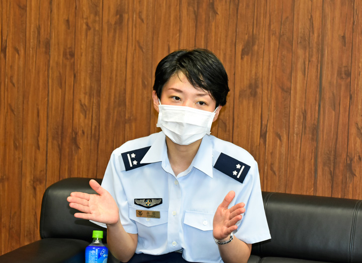 画像3: OG医官が1年生に講演、不安軽減図る 防衛医科大学校