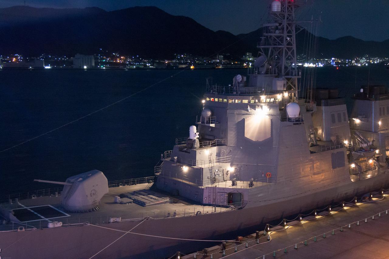 画像: 2015年、護衛艦「みょうこう」の下関入港時 - 数々お見せいただいたお写真の中での編集部お気に入りの1枚 一輌さんより提供
