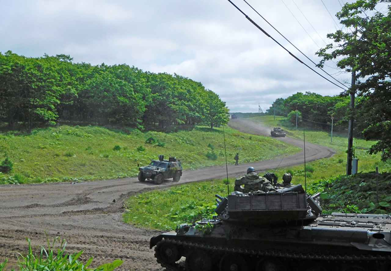 画像1: 陸自最大級の実動対抗演習|陸自教育訓練研究本部