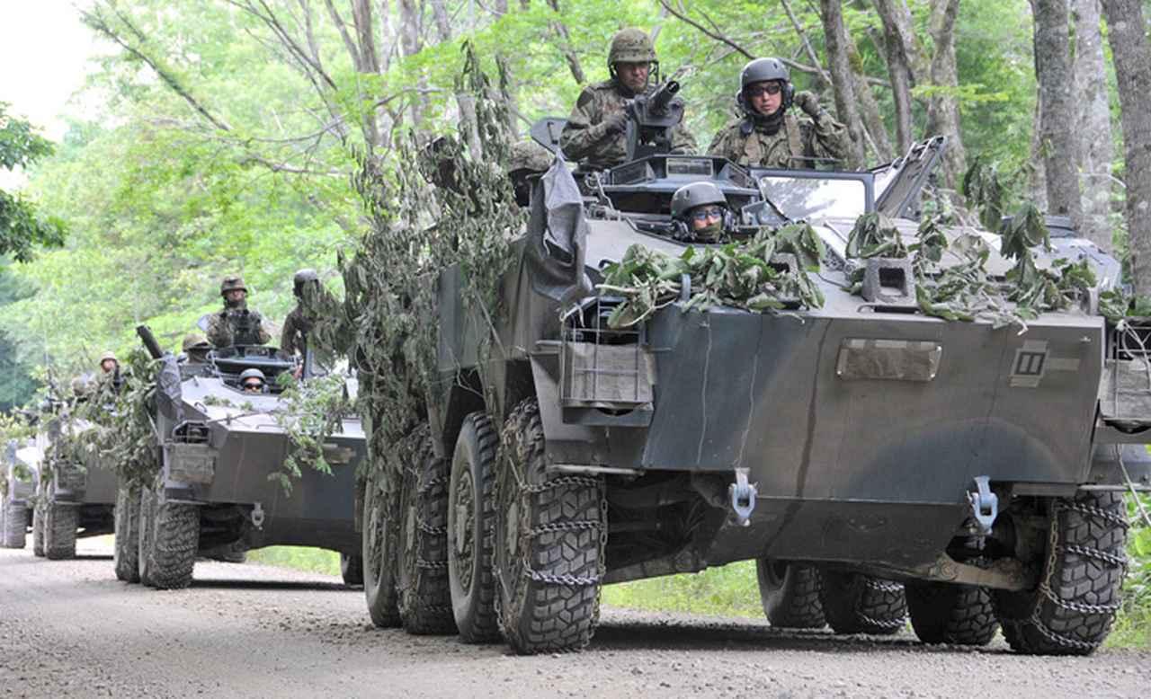 画像5: 52普連、初の戦車との共同訓練 真駒内駐屯地