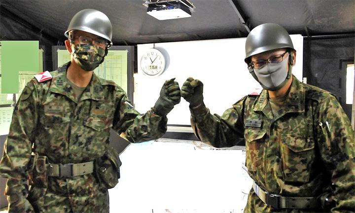 画像1: 52普連、初の戦車との共同訓練 真駒内駐屯地