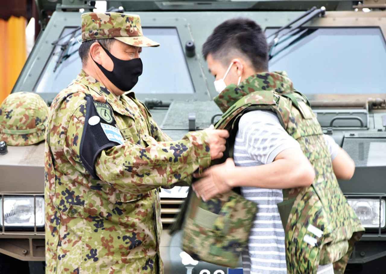 画像3: 22即機連、艦艇広報に装備品展示で協力 多賀城駐屯地