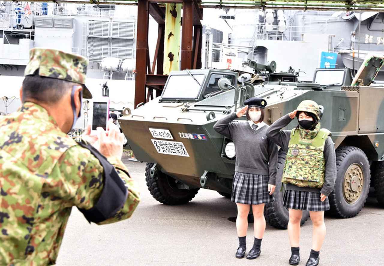 画像5: 22即機連、艦艇広報に装備品展示で協力 多賀城駐屯地