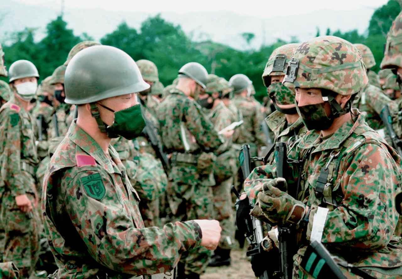 画像3: 作戦名は「麒麟の盾」旅団訓練検閲 米子駐屯地
