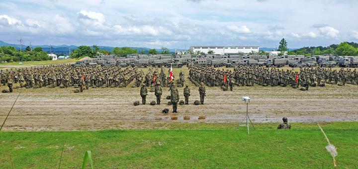 画像1: 作戦名は「麒麟の盾」旅団訓練検閲 米子駐屯地
