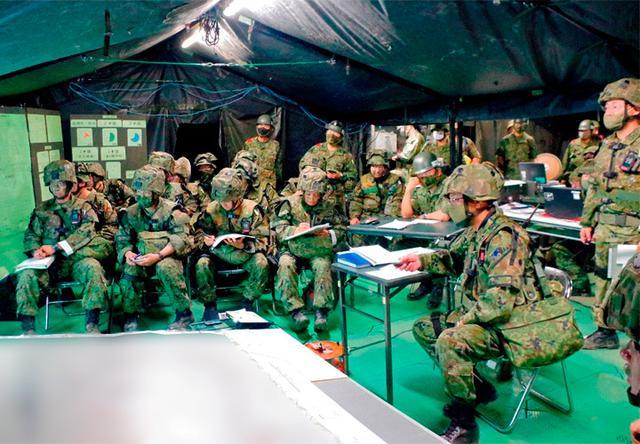 画像5: 作戦名は「麒麟の盾」旅団訓練検閲|米子駐屯地