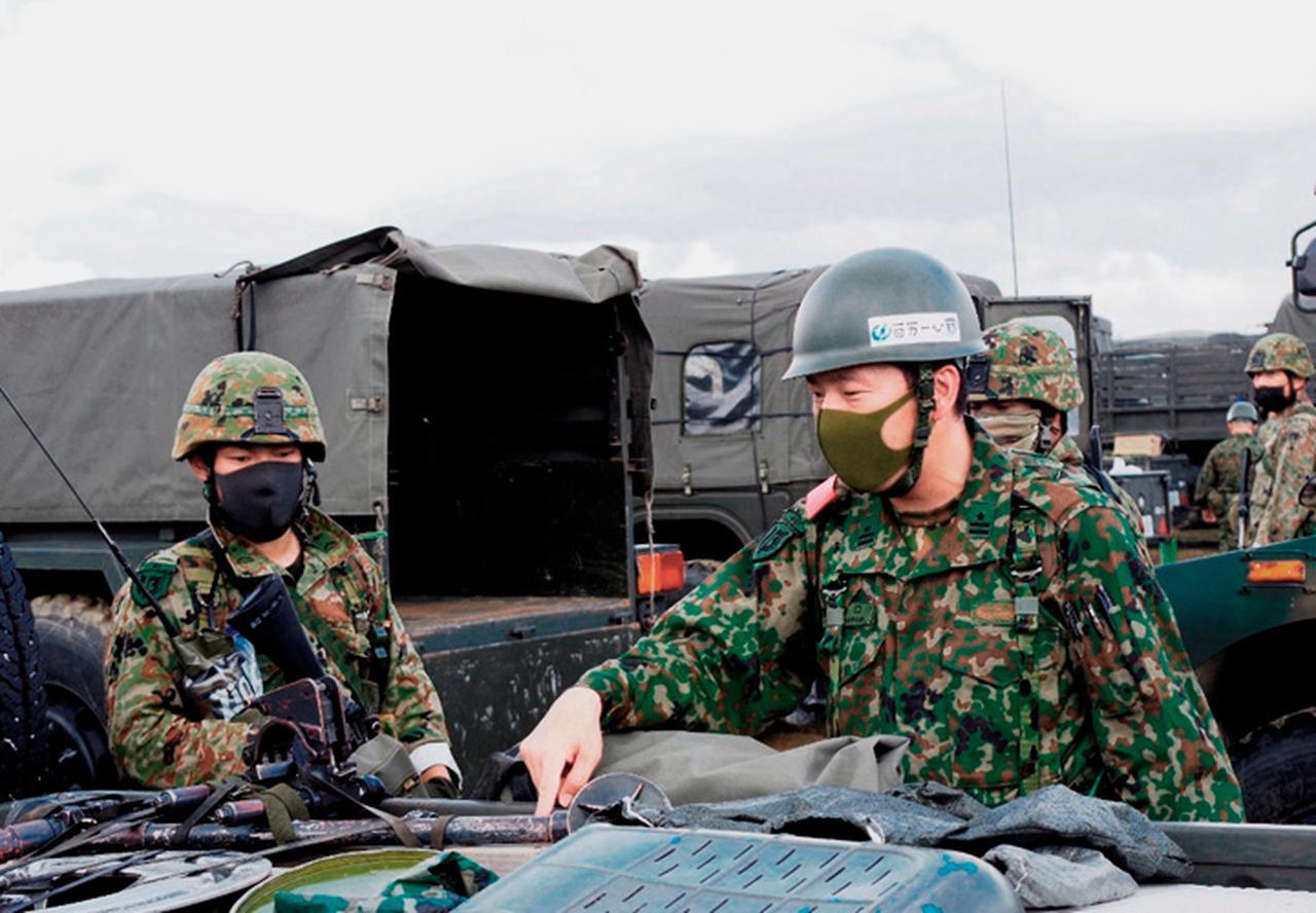 画像4: 作戦名は「麒麟の盾」旅団訓練検閲 米子駐屯地