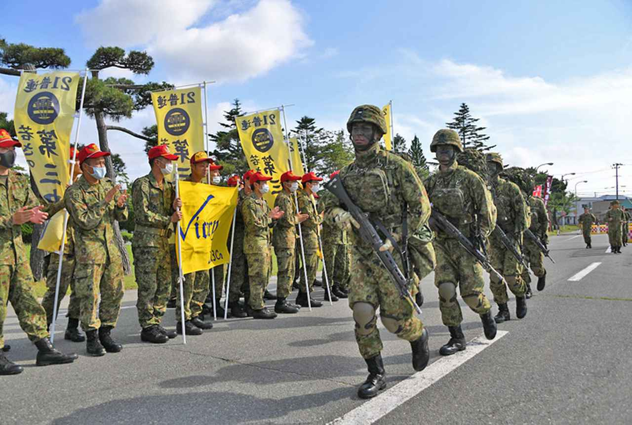画像1: レンジャー養成教育 21普連の5人が帰還 秋田駐屯地