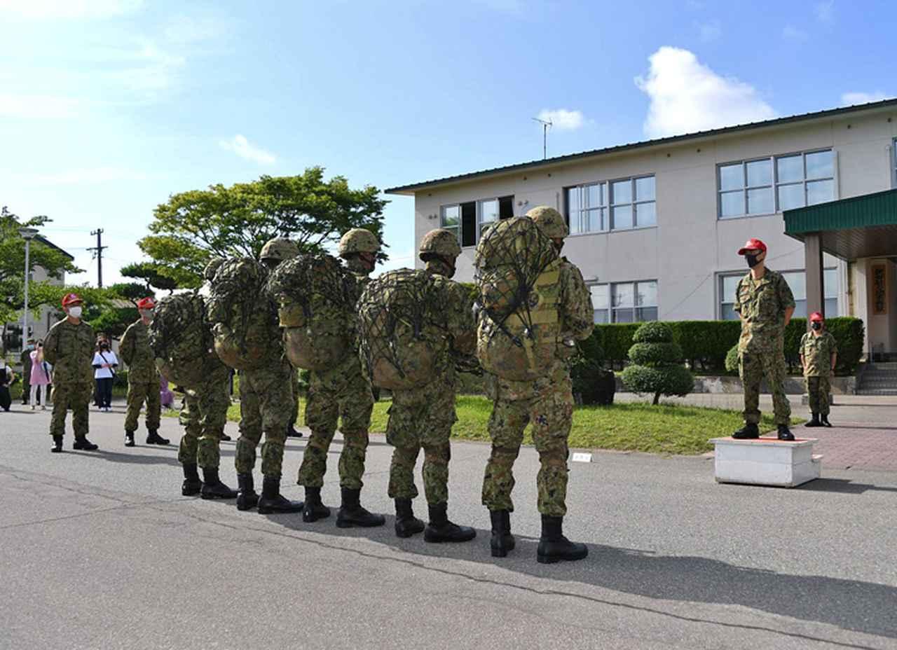 画像2: レンジャー養成教育 21普連の5人が帰還 秋田駐屯地