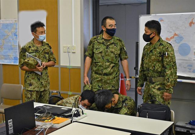 画像5: 新型コロナ災派、県内医療機関を支援|陸自15旅団