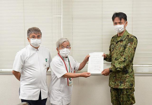 画像13: 新型コロナ災派、県内医療機関を支援|陸自15旅団