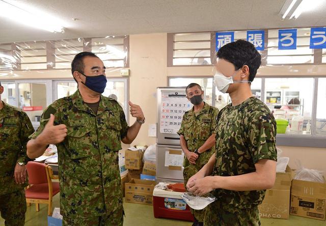画像12: 新型コロナ災派、県内医療機関を支援|陸自15旅団