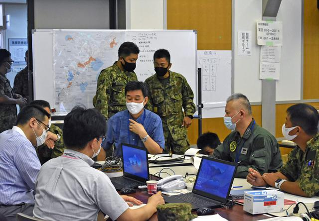 画像7: 新型コロナ災派、県内医療機関を支援|陸自15旅団