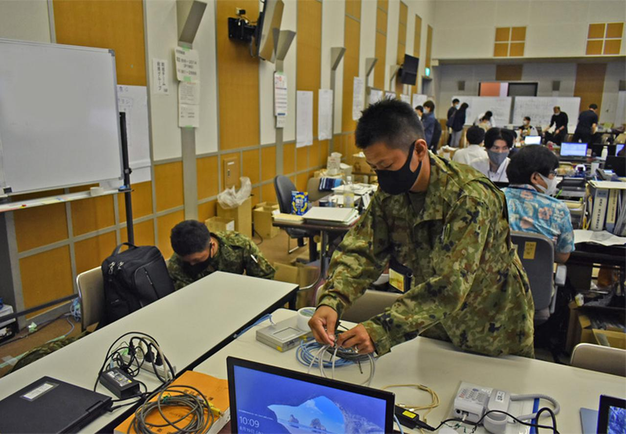 画像6: 新型コロナ災派、県内医療機関を支援|陸自15旅団