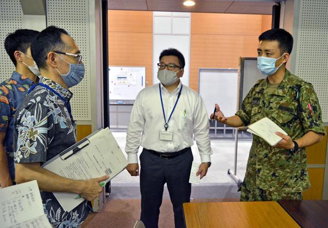 画像2: 新型コロナ災派、県内医療機関を支援|陸自15旅団