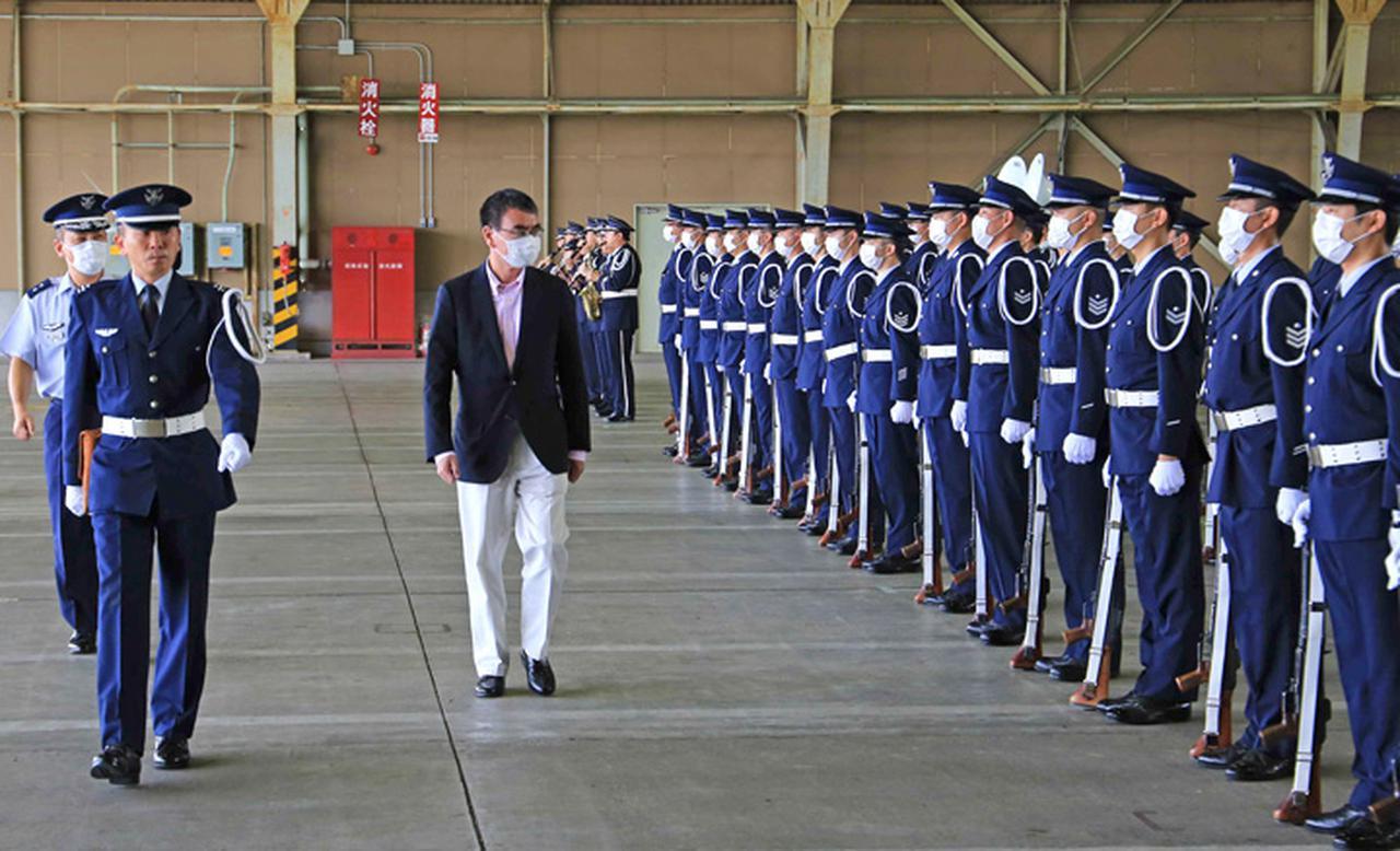 画像2: 河野大臣がF2戦闘機のG体感 空自百里基地