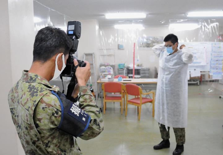画像11: 新型コロナ災派、県内医療機関を支援|陸自15旅団