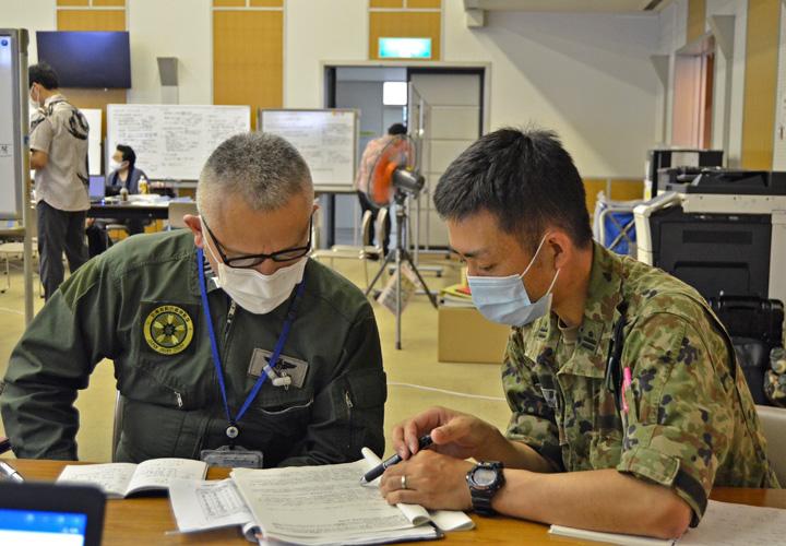 画像3: 新型コロナ災派、県内医療機関を支援|陸自15旅団