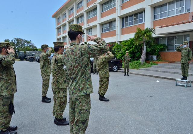 画像1: 新型コロナ災派、県内医療機関を支援|陸自15旅団