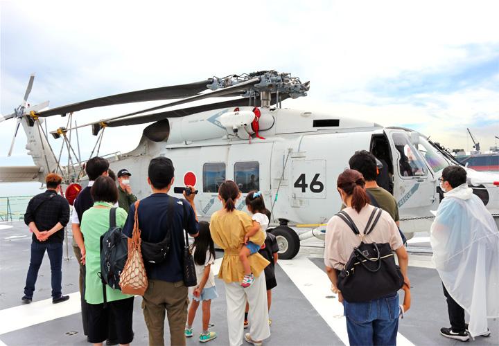 画像3: 護衛艦「しらぬい」を特別公開|徳島地本