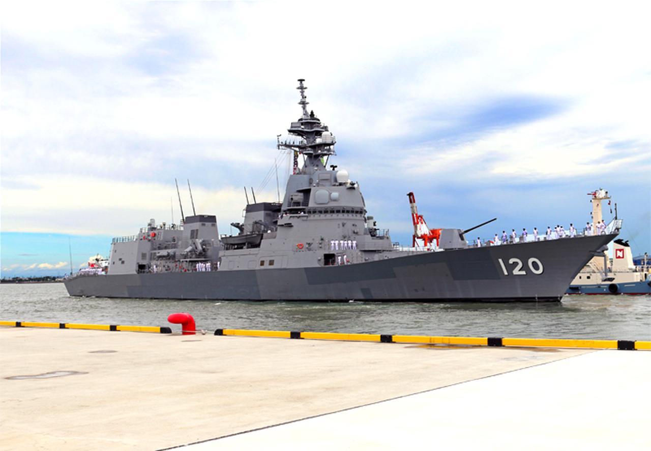 画像1: 護衛艦「しらぬい」を特別公開|徳島地本