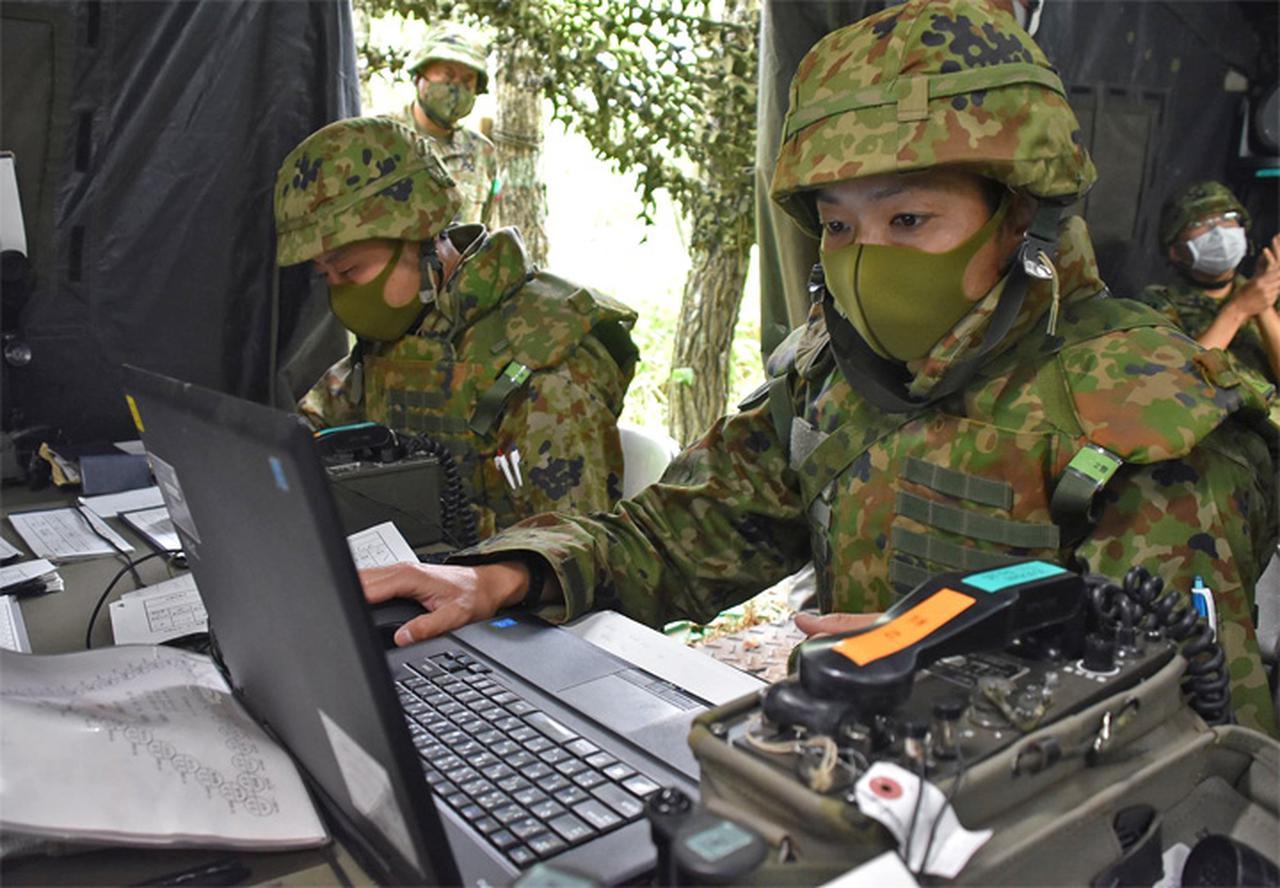 画像7: 射撃訓練の場を活用し築城訓練|仙台駐屯地