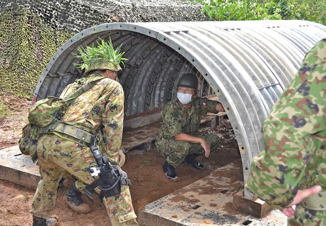 画像5: 射撃訓練の場を活用し築城訓練|仙台駐屯地