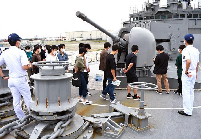 画像1: 護衛艦「せとぎり」特別公開|福島地本