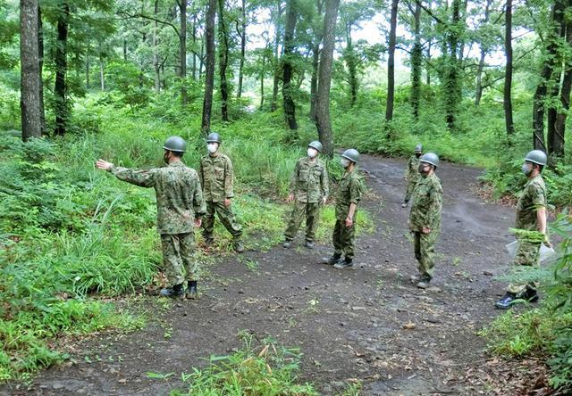 画像4: 射撃訓練の場を活用し築城訓練|仙台駐屯地