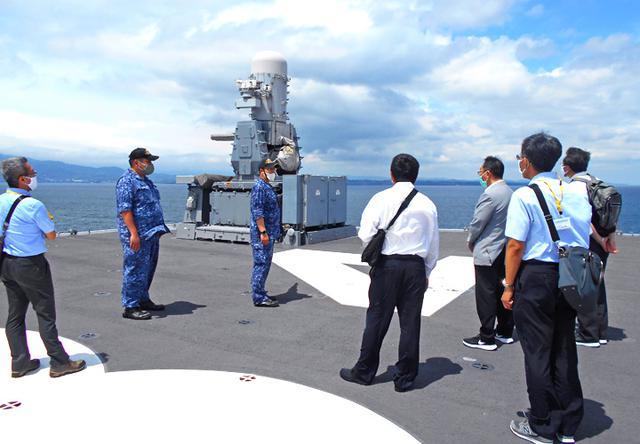 画像9: 海自護衛艦「かが」を公開|大分地本