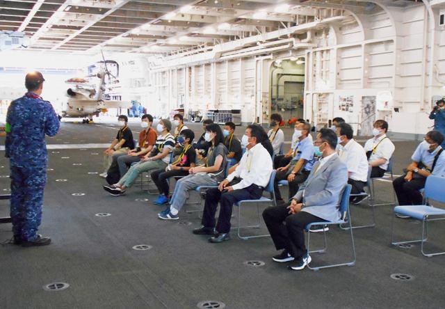 画像4: 海自護衛艦「かが」を公開|大分地本