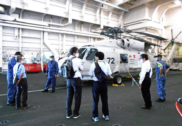 画像5: 海自護衛艦「かが」を公開|大分地本