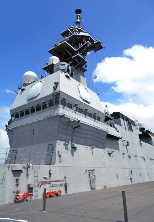 画像1: 海自護衛艦「かが」を公開|大分地本