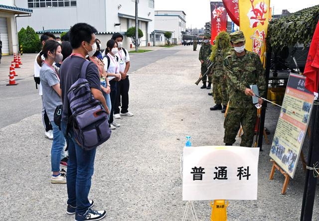 画像1: 3師団職種博で装備品展示支援|伊丹駐屯地