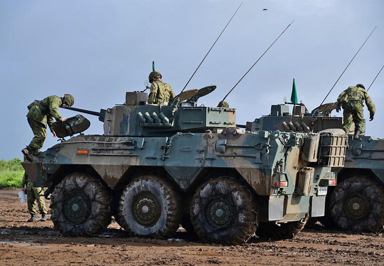 画像1: 偵察警戒車の射撃能力向上図る 陸自7師団
