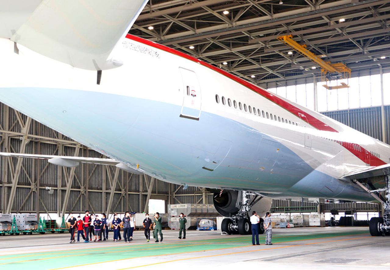 画像: 特別航空輸送隊