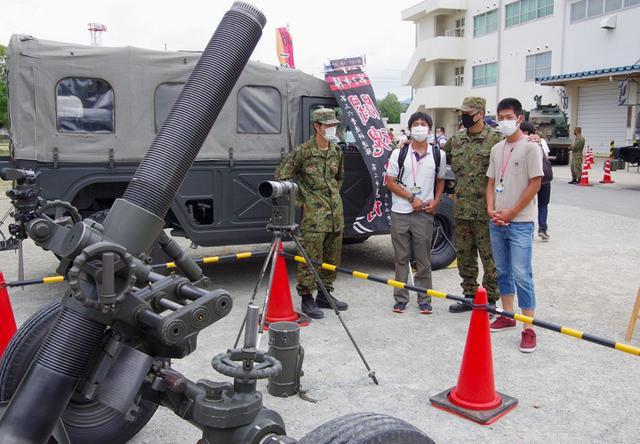 画像3: 3師団職種博で装備品展示支援|伊丹駐屯地