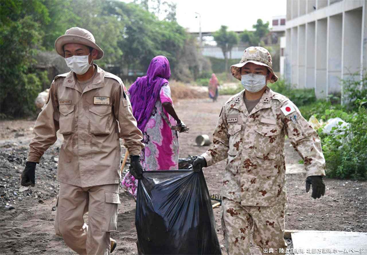 画像11: ジブチ派遣要員 帰国隊員ねぎらう|名寄駐屯地