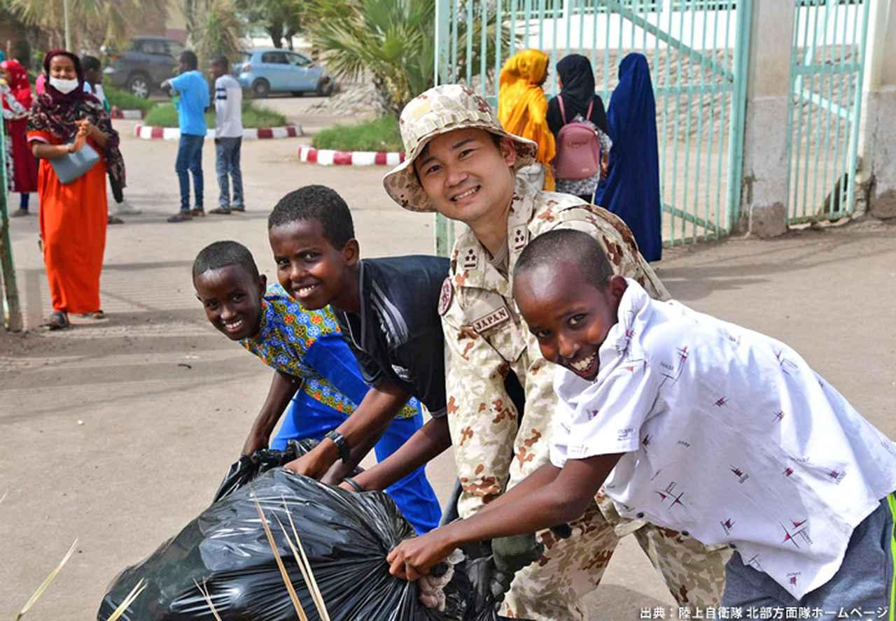 画像14: ジブチ派遣要員 帰国隊員ねぎらう|名寄駐屯地