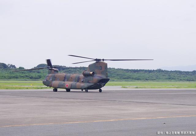 画像: 2020年9月4日 15:50 CH-47J離陸 高遊原分屯地