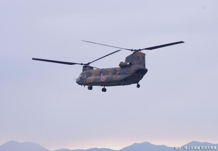 画像2: 2020年9月4日 15:50  CH-47J離陸  高遊原分屯地