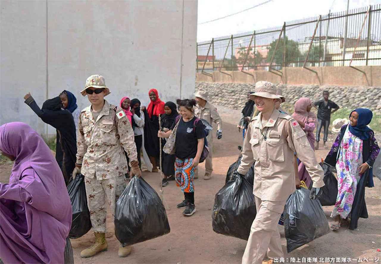 画像15: ジブチ派遣要員 帰国隊員ねぎらう|名寄駐屯地