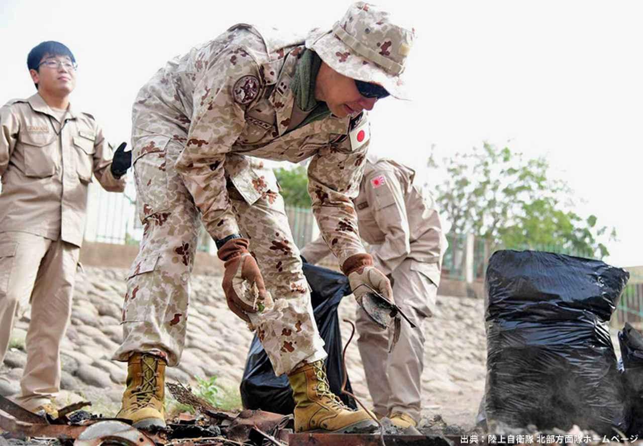画像12: ジブチ派遣要員 帰国隊員ねぎらう|名寄駐屯地
