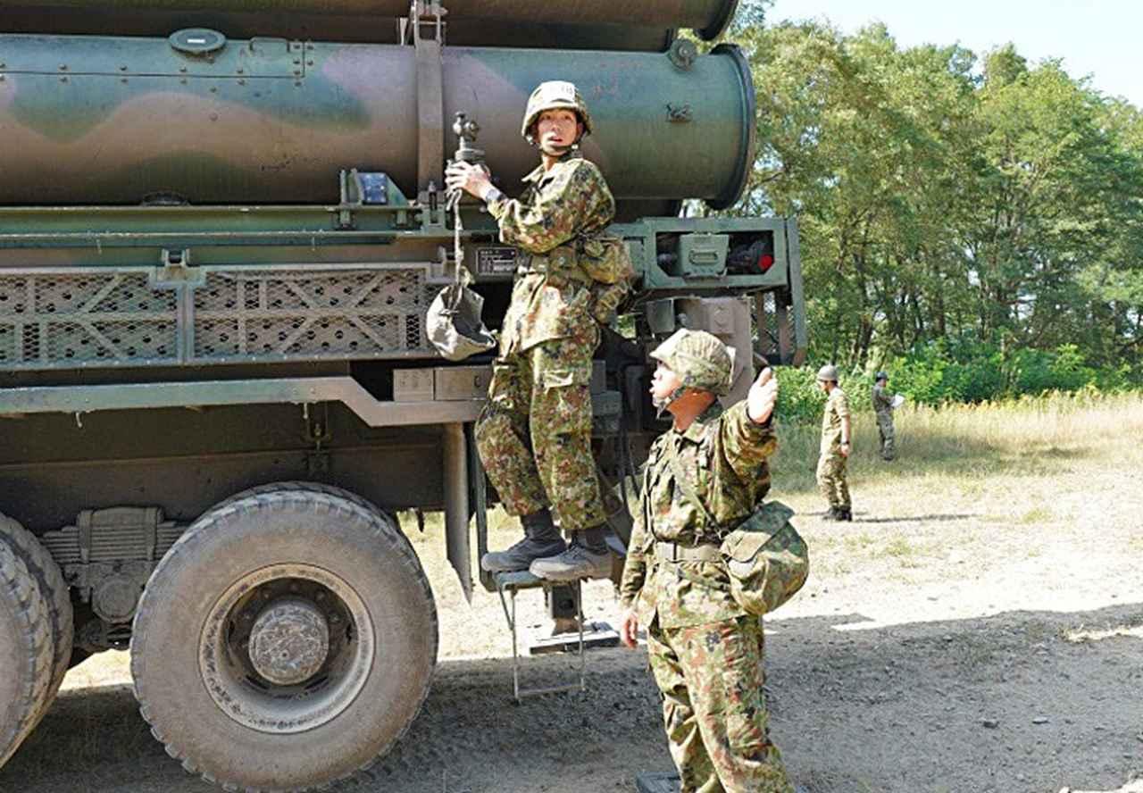 画像2: 「立派なミサイル隊員に」新隊員特技課程訓練|美唄駐屯地
