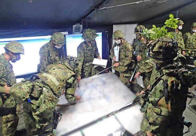 画像2: 33普連、諸職種協同戦闘訓練|久居駐屯地