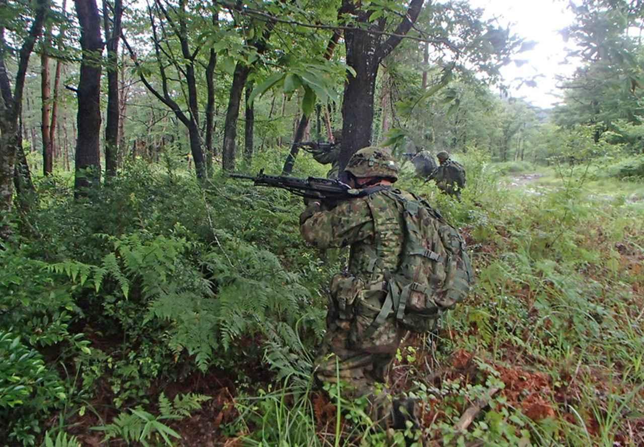 画像5: 33普連、諸職種協同戦闘訓練|久居駐屯地