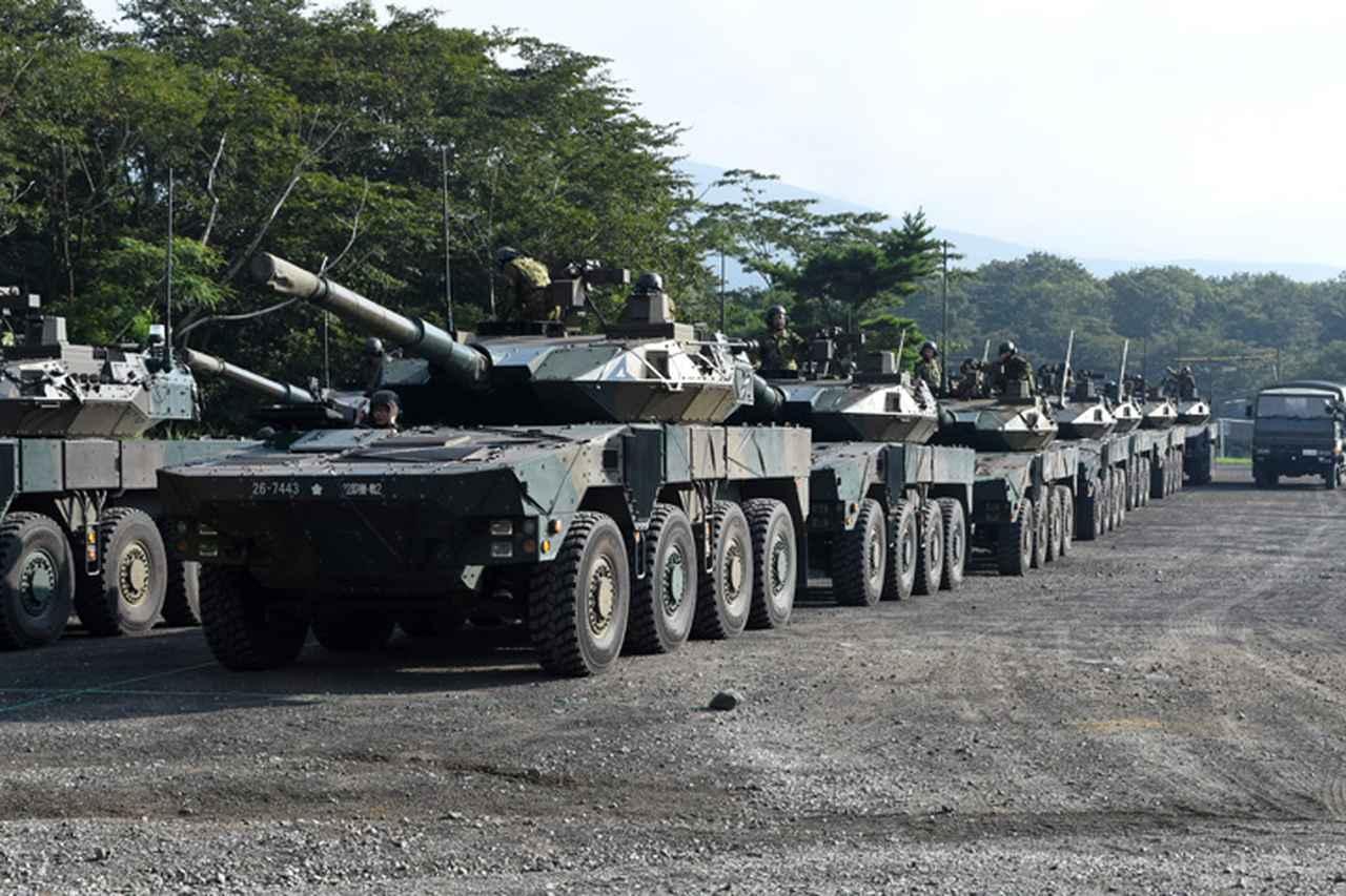 画像1: 野営訓練で即応機動連隊の練度向上図る 多賀城駐屯地